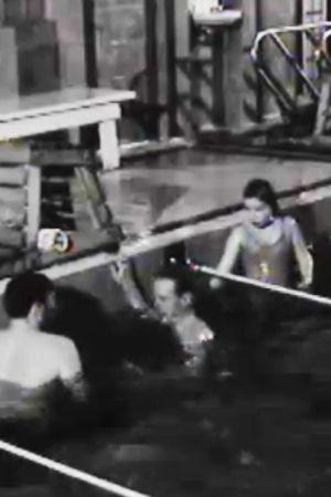 Georgsgatans simhall på 1960-talet.