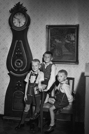 Tuomas Haapanen ja veljensä Eero ja Matti