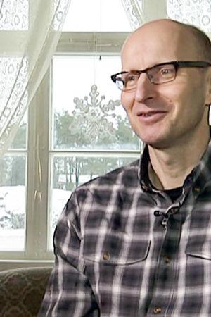 Jukka Lietzen haastattelukuvassa.