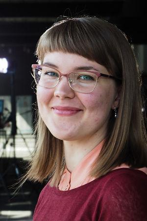 Säveltäjä Aino Tenkanen.