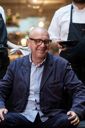 Ranskalais-italialainen ruokakriitikko Andrea Petrini.