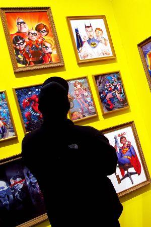 Mad-julisteita New York Comic Con -näyttelyssä New Yorkissa.