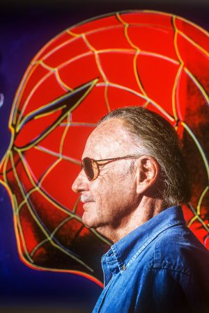 Stan Lee ja Spiderman.