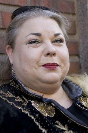 Heinäsirkka eli Anne Taskinen vuonna 2008.