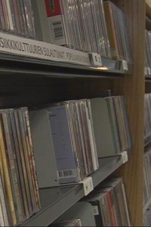 Kuopion kirjaston musiikkiosasto