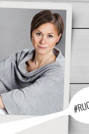 Syömisen psykologiaan perehtynyt psykologi ja psykoterapeutti Anna Riihimäki.