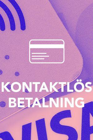 Grafisk bild till artikel om kontaktlös betalning