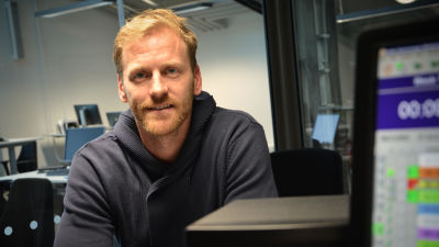Henrik Tallinder gästade Åbolands studio
