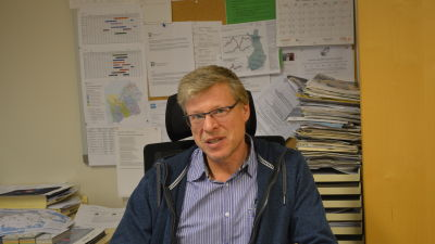 Bjarne Häggman, teknisk chef i Larsmo