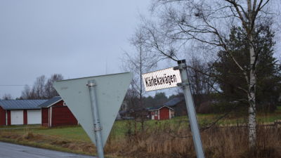 Kärlekavägen, en av 170 vägar som ska finskt namn