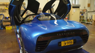 Toroidion har skapats i en studio i Pojo.