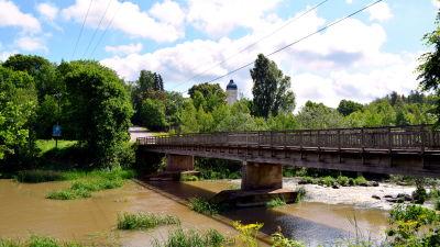 Gamla bron i Forsby och Forsby gård