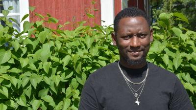Hassan Barry i Vörå.
