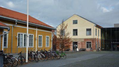 Åbo Akademis byggnad Arken utifrån.