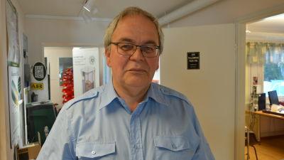 Håkan Nylund i Maxmo.
