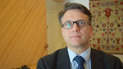 Jonas Laxåback, verksamhetsledare för SLC