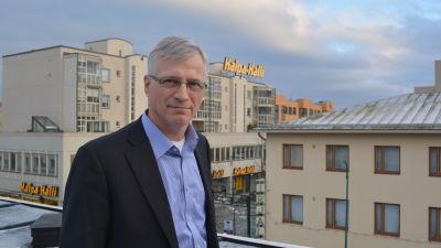 Jarl Sundqvist är vd på näringslivscentralen Concordia i Jakobstad