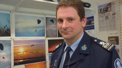 Kjell Nylund är ansvarig utbildare på svenska vid polisyrkeshögskolan i Tammerfors.