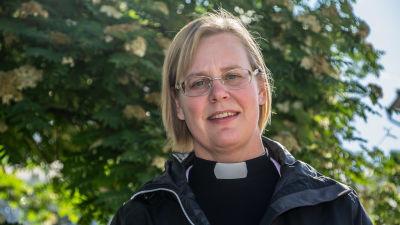 Camilla Ekholm, kyrkoherde i Sibbo Svenska församling