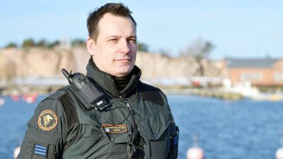 Personporträtt på Mikael Rehn