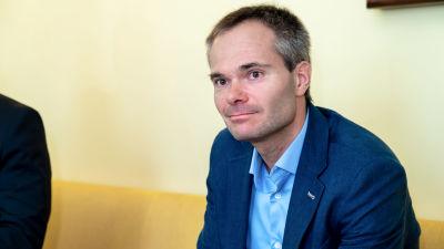 Kokoomuksen eduskuntaryhmän puheenjohtaja, kansanedustaja Kai Mykkänen.