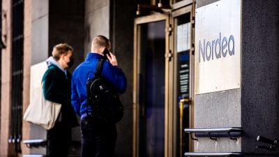 Nordean konttori Helsingin Aleksanterinkadulla.