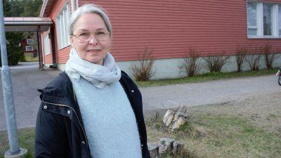 Supernannynä Ruskolla työskentelevä Anne Suomalainen.