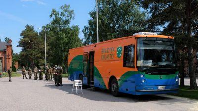 en biblioteksbuss
