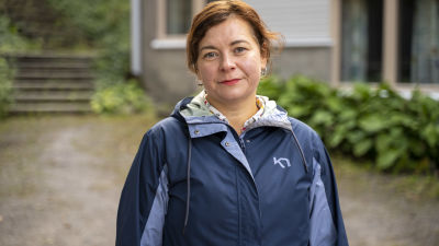 Porträttbild på Karin Ljung-Hägert.