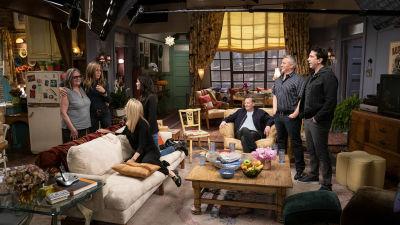 Skådespelare från Friends: The Reunion.