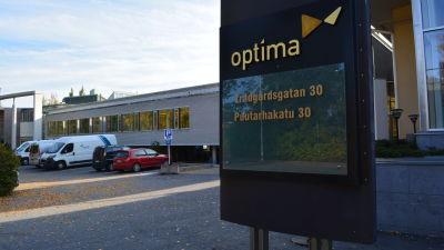 Optima i Jakobstad.