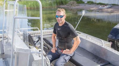 Dykaren Patrik Grönqvist