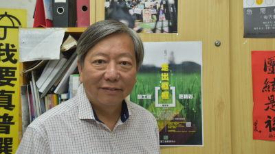 CTU:s grundare Lee Cheuk-yan sitter i fängelse dömd för att ha ordnat olagliga sammankomster. Han anser att åtalet var en politisk hämnd för hans aktivism.