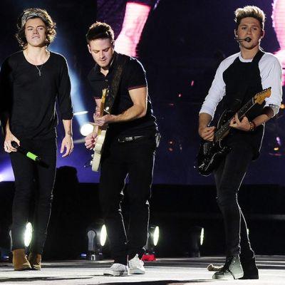 One Direction esiintyi Estadio Nacional -areenalla, Chilessä 30. huhtikuuta 2014.