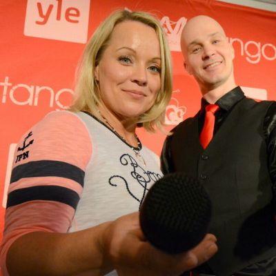 Heidi Pakarinen ja Marko Maunuksela.