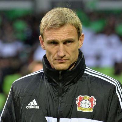 Leverkusenin päävalmentaja Sami Hyypiä