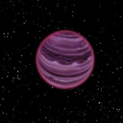 Planeetta ja tähtiä