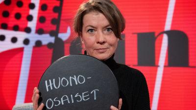 Viimeinen sana ohjelma, vieraana kirjailija ja toimittaja Jeanette Björkqvist. 26.3.2021.