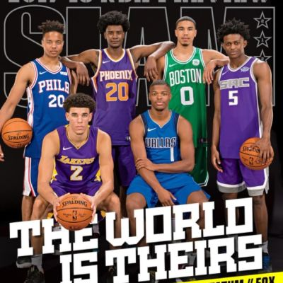 Kuvakaappaus Slam-Magazinesta