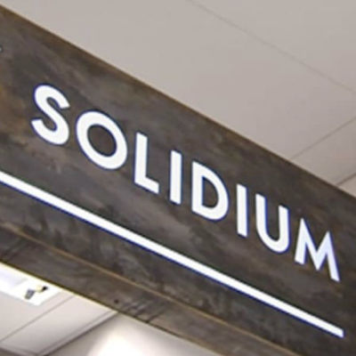 Solidiums logotyp.