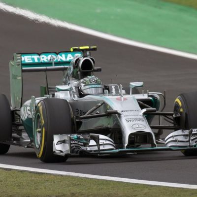 Nico Rosberg Brasilian GP:ssä