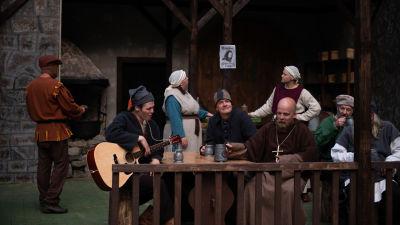 Närpes teaters uppsättning av Robin Hood.