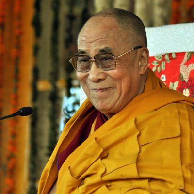 Dalai Lama Intiassa 16. maaliskuuta 2014.