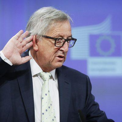 EU-komission puheenjohtaja Jean-Claude Juncker.