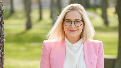 Svenska Kvinnoförbundets ordförande Anita Westerholm