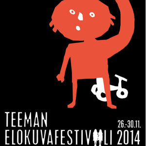 Teeman elokuvafestivaalin julisteet 2014. Suunnittelu Kirsi Kukkurainen.