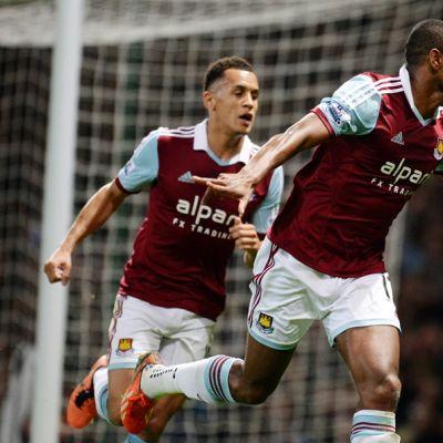 West Hamin Ricardo Vaz Te tuulettaa.