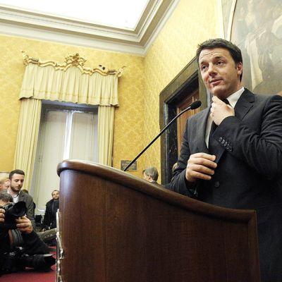 Italian uusi pääministeri Matteo Renzi nimeri hallituksensa 21. helmikuuta.