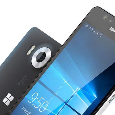 Microsoftin Lumia 950-älypuhelin.