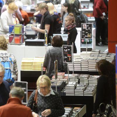 Kirjamessut alkoivat Helsingissä torstaina.